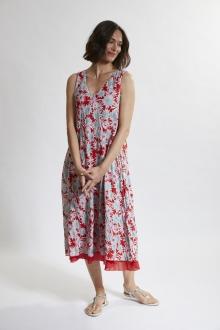Kleid doppel. m. Tasch.