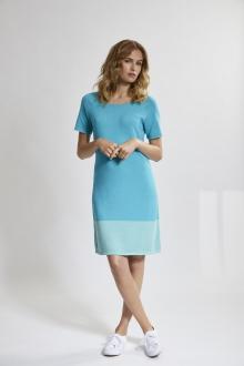 Kleid Raglan 1/2-A.