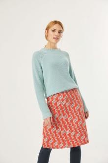 Pullover halbho. Kragen