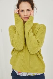 Pullover halbhoher Kragen